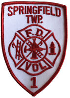 Springfield Township Volunteer Fire Department Patch,, OH.  New