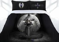 CLEARANCE Anne Stokes Prayer For The Fallen Gothic Size Quilt Doona Cover Set