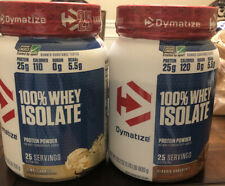 Dymatize 100% Whey Isolate Protein Powder - Vanilla+Chocolate 1.76lb  Exp 09/21