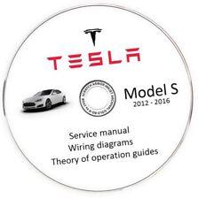 Tesla Model S 2012-2016 Service Manual + Wiring Diagram