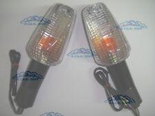 COPPIA FRECCE TRASPARENTI 8996/7 POSTERIORI HONDA650XL V Transalp2005 2006
