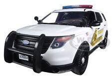 2015 FORD POLICE INTERCEPTOR SAN BERNARDINO SHERIFF CAR 1/24 MOTORMAX 76962