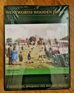Wentworth Village Football By Kevin Walsh Wooden Jigsaw Puzzle 250 Pce RARE NEW
