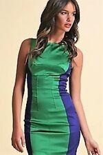 New Without Tags Karen Millen Colour Block Party Cocktail Christmas Dress 12