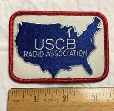 United States CB Radio USCB Radio Association Logo Embroidered Patch