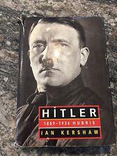 1999 HITLER 1889-1936 HUBRIS Biography Book HC/DJ by IAN KERSHAW