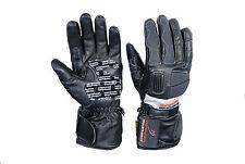 Motorcycle Winter Gloves Leather Motorbike Biker Waterproof Thermal Victor Dry