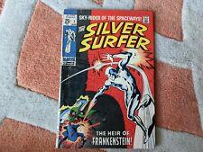 Silver Surfer #7 vol. 1 - 1968 - Marvel - 1969 - Silver Age - Frankenstein