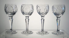"""COUNTRY ROSE from SEARS Liqueurs or Cordials 4 3/4"""", SET of FOUR, Multi/Singles"""