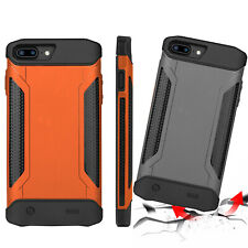 Rechargeable External Power Bank Battery Charger Armor Case for iPhone 6s 7 8 +