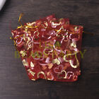 100pcs 9x12cm Organza Wedding Party Decoration Gift Candy Bags Pouches Dp Red