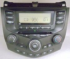 03 04 05 06 07 Honda Accord OEM Factory AM FM Radio CD Player AUX 2AC1
