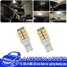 20Pcs DC 12V T10 1206 42 SMD LED Auto Bulbs Car Lighting Reading Lamp Warm White