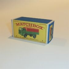 Matchbox Lesney  1 e Mercedes Truck empty Repro E style Box