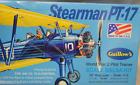 "STEARMAN PT-17, NEW, Complete Kit, Free Flight, W/S 28"" Rubber-.049 Pwr Guillows"