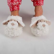 Zhu-Zhu Furry Animal Slippers Dog - Soft Plush Novelty Slippers Fits up to UK 7