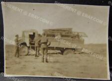 WW2 Chevy Truck stuck in soft Sand- RAF -40 ASP -Desert War - Photo 5 by 3.5cm