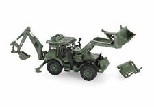 HO Motorart 13479 JCB HMEE EU Military BACKHOE in OLIVE GREEN