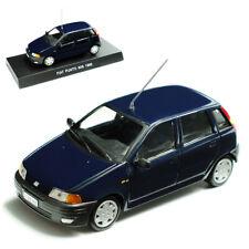 Fiat Punto 60s 60 S 1995 Dunkel Blau Schwarz 1/43 De Agostini Modellauto Modell