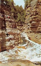 BG13971 hell s gate in famous ausable chasm ausable new york usa