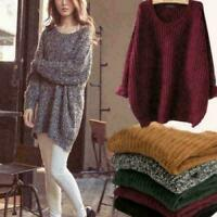Knitwear Women's Long Sleeve Loose Pullover Knitted Sweaters Outwear Coat