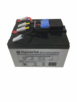 APC RBC48 Replacement Cartridge with 2x 12V 7.5Ah SigmasTek Batteries