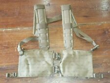 FirstSpear Padded split front Recce chest rig 6/12 coyote brown H Harness MOLLE