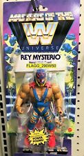 WWE Masters Of The Universe REY MYSTERIO Heroic HIGH FLYER Figure Wrestling READ