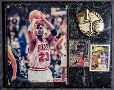 Michael Jordan/Chicago Bulls Autographed 12X15 Plaque Signed *Not Authenticated*
