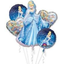 Anagram CINDERELLA A NIGHT TO SPARKLE BALLOON BOUQUET 5 Balloon Fireworks Hearts