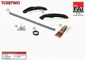 Timing Chain Kit NO Cam Gear FOR VW GOLF VI 1.4 08->16 CAVD CNWA Petrol FAI