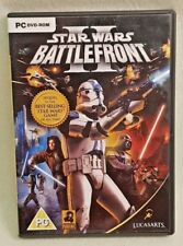 STAR WARS Battlefront 2 PC DVD ROM Broken Disc For CD KEY & Artwork See Descrip