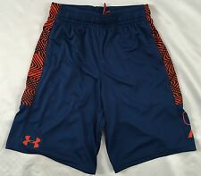 Under Armour BOY'S All Season Gear SHORTS Navy Blue 1299998 YOUTH Size M