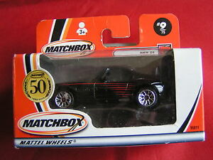 MATCHBOX  MADE IN CHINA #9/75 BMW Z8