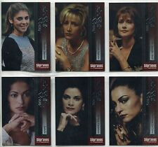 The Sopranos Season 1 Complete La Belle Donne Chase Card Set BD1-6