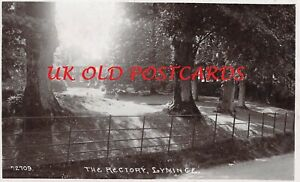 Kent - LYMINGE, The Rectory, Real Photo