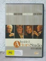 Inside the Actors Studio DVD Paul Newman, Robert Redford, Barbra Streisand RARE