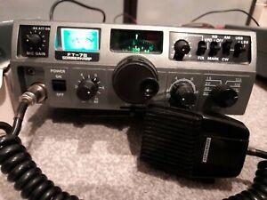 yaesu ft-7b summerkamp +100 watt powerpack, FQ counter and mic great condition
