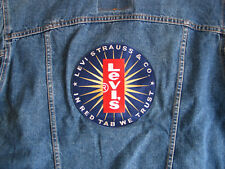 Vintage NOS NWT Levi's Strauss Red Tab Blue Denim Jacket Patch Jackets Jeans USA