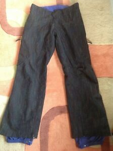 Burton AK Snowboard or ski insulated pants. Women's small. Slim fit. Goretex