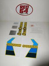 Suzuki RM250 1984 decal set, motocross bike stickers