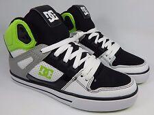 DC Spartan High Top WC Leather Men's Skate Shoes Size US 8 M (D) EU 40.5 Black