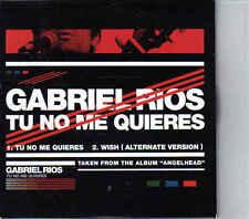 Gabriel rios- Tu no Me Quires cd single