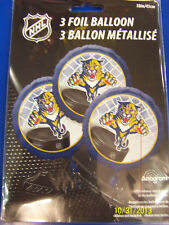 Florida Panthers NHL Pro Hockey Sports Banquet Party Decoration Mylar Balloons