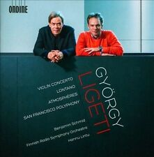 """Gy""""rgy Ligeti: Violin Concerto; Lontano; AtmosphŠres (CD, Sep-2013, Ondine)"""