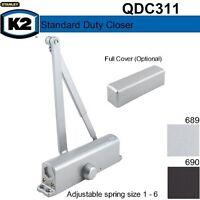 Stanley K2 Commercial Door Closer QDC211 // 8301 Dark Bronze