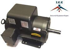 New Baldor 7.5 Hp Electric Motor 3450 RPM 184 T Frame 1 Ph Single Phase 208/230V