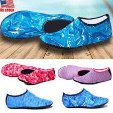 7af47d1f569b0 USA Men Women Water Shoes Aqua Sock Yoga Exercise Beach Dance Swim Slip On  Surf