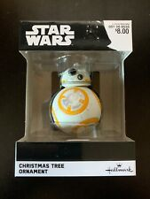 Hallmark Star Wars BB-8 Christmas Tree Ornament Disney Brand New