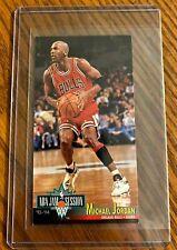🔥🏀1993-94 Fleer NBA Jam Session #33 Michael Jordan HOF Chicago Bulls - HOT!